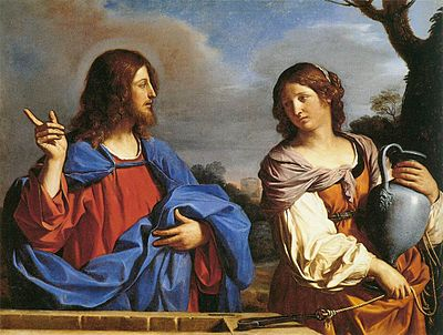 400px-Guercino_-_Jesus_and_the_Samaritan_Woman_at_the_Well_-_WGA10946