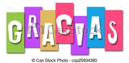 gracias-colorful-stripes-1397-stock-illustration_csp25934380
